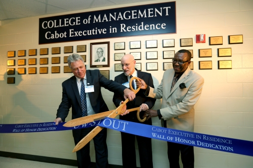 Cabbot Ribbon Cutting