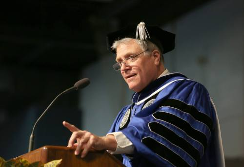 Chancellor Bob Meyer - Winter Commencement