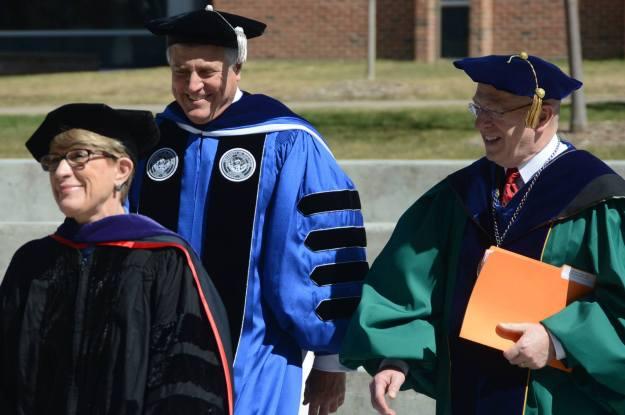 Inauguration of Chancellor Bob Meyer