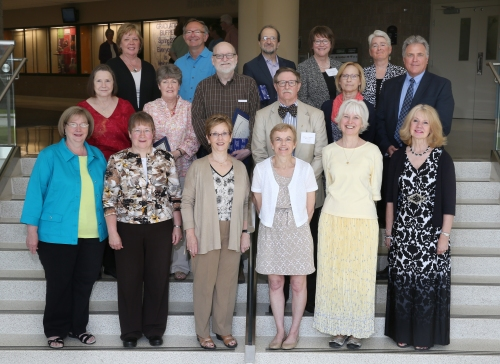 Spring 2015 Retirement Recognition Program