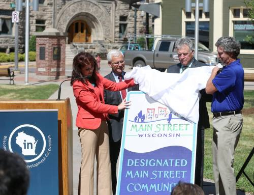 A boost for Main Street