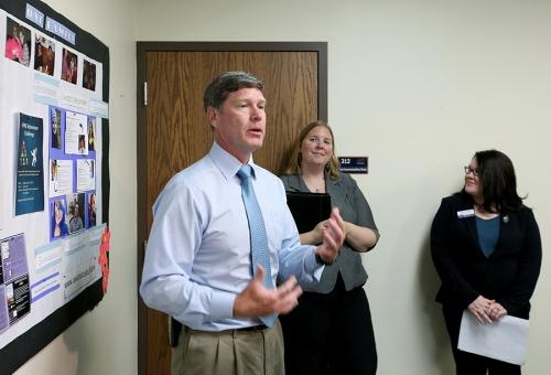 Rep. Ron Kind Visits UW-Stout