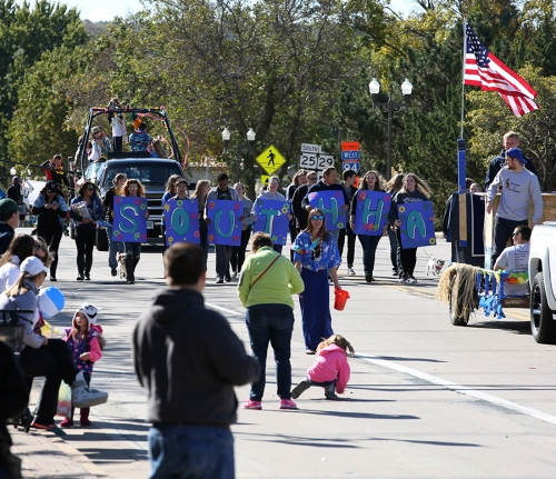 UW-Stout Homecoming Parade 2015