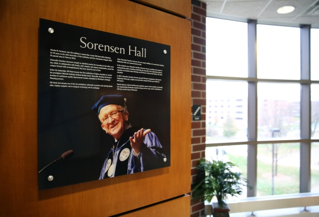 Sorensen Hall Dedication