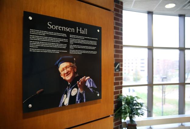 Sorensen Hall Dedication